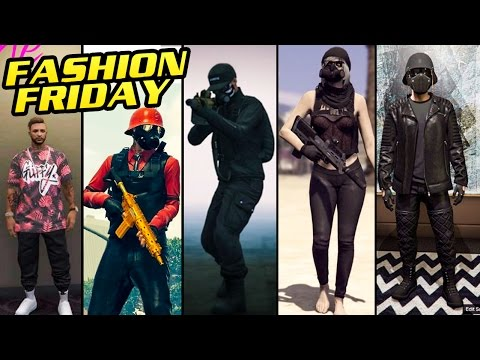 GTA 5 Online FASHION FRIDAY (The Lone Wolf Blood Money The Merc Party Time u0026 MORE) - YouTube