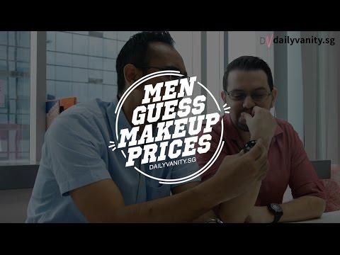 SINGAPOREAN MEN GUESS MAKEUP PRICES | Daily Vanity