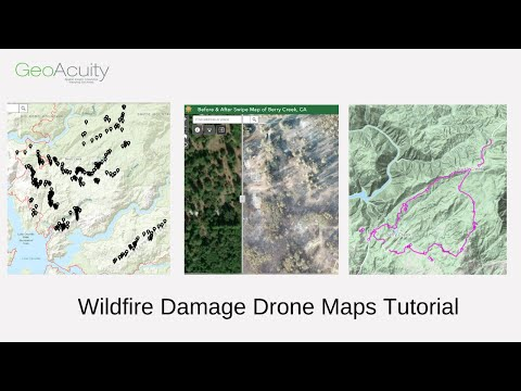 North Complex Fire West Zone - Drone Maps Tutorial