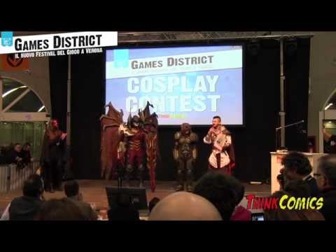 """""""Cosplay Contest & Show"""" by Think Comics - GAMES DISTRICT VERONA (Model Expo Italy)"""