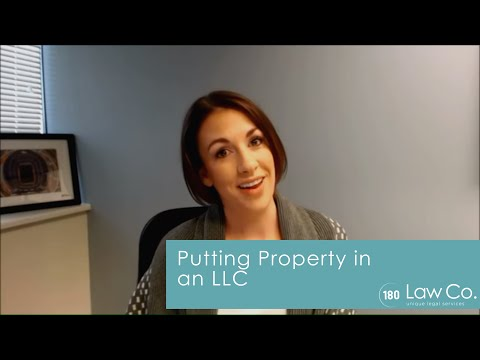 All Up In Yo' Business: Putting Property in an LLC