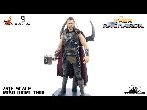 Optibotimus Reviews: Hot Toys Thor Ragnarok ROAD WORN THOR