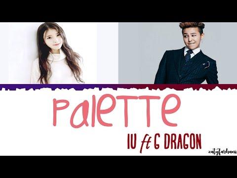 IU아이유 - Palette팔레트 Feat G-DRAGON  Color CodedHanRomEng