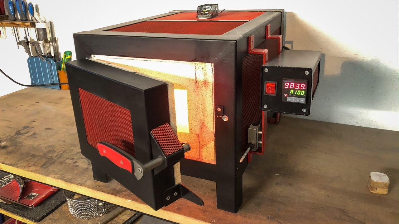 DIY Heat treating oven (build video