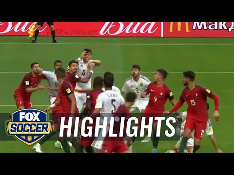 Moreno goal rescues a point for Mexico vs. Portugal | 2017 FIFA Confederations Cup Highlights