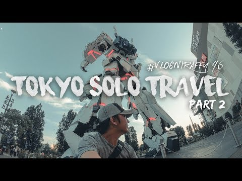 TOKYO SOLO TRAVEL - GUNDAM, STATUE OF LIBERTY | Odaiba, Tokyo, Japan