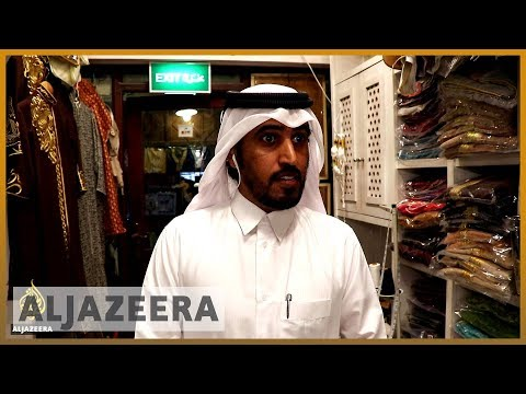 What do people in Qatar think about the blockade?