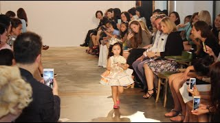 stella walks the runway for vivian luk s charity fashion show