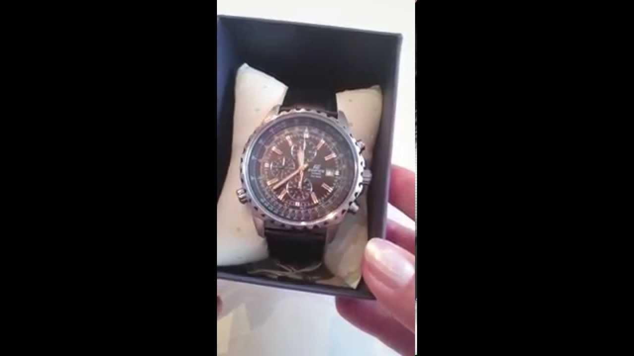Pánské hodinky Casio Edifice EF-527L-1AVEF - YouTube 64b3179267