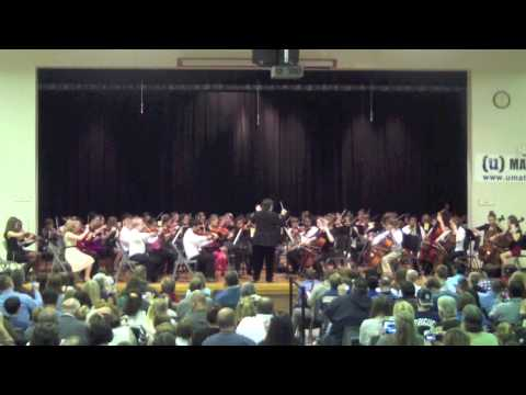 Ann Hawkins Gentry Middle School - Winter Orchestra Concert - 6th Grade
