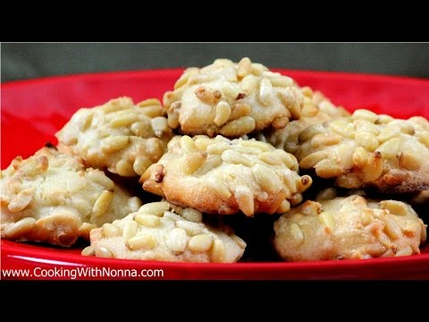 Pinoli Cookies -  Rossella's Cooking With Nonna