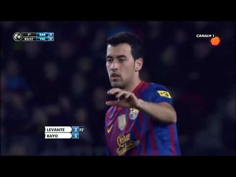 FC Barcelona 5 vs  Valencia CF 1 full match  19.02.2012 thumbnail