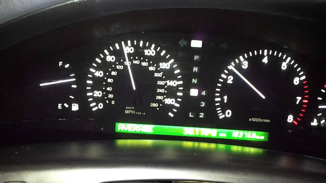 Lexus ls400 mpg