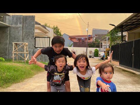 Mendadak Vlog   Ada Pelangi Di Rumah Ku   Zara Cute