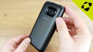 official samsung galaxy s7 wireless charging battery pack case review hands on
