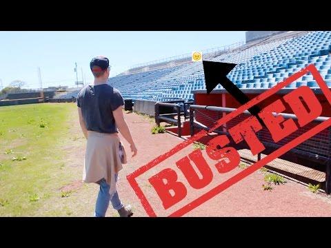 We got kicked outta Greer Stadium