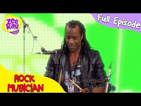 Let's Play: Rock Musician | FULL EPISODE | ZeeKay Junior