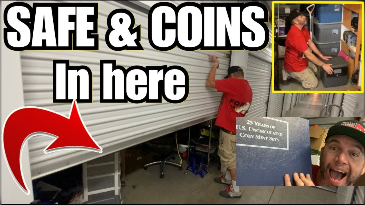 FOUND SAFE & COINS in $600 ABANDONED STORAGE ~ i bought an abandoned storage locker and found safe