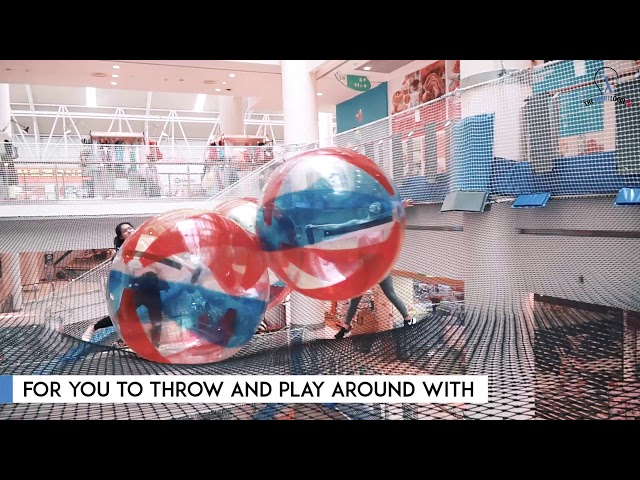 Airzone - World's First Suspended Indoor Playground
