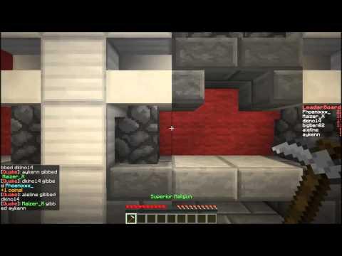 Minecraft Quakecraft #1 W/ Kino: TURBULENCE!!!!!!!!