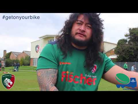 Aggregate Industries and Leicester Tigers Foundation's 'Get on Your Bike' Campaign