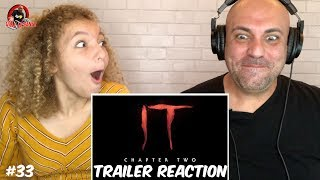 IT Chapter 2 - OFFICIAL TRAILER REACTION