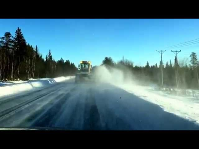 Nordkapp Vintertur 2015 - Video 20 - sneploven