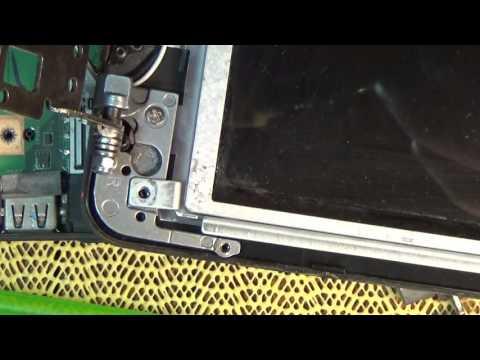 Замена петель на Asus K52!!! Разборка и чистка ноутбука!!!