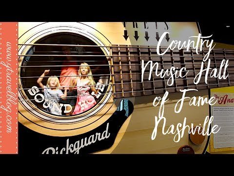 Exploring the Country Music Hall of Fame and Museum in Nashville, Tennessee
