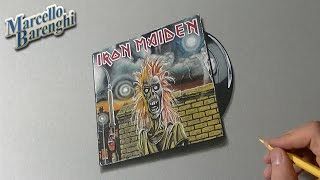 Epic Iron Maiden Cover 3D Drawing
