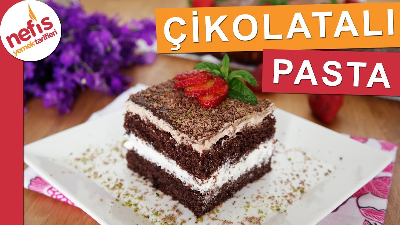 Çikolatalı Pasta Tarifi - Yedikçe Yedirten Pasta :)