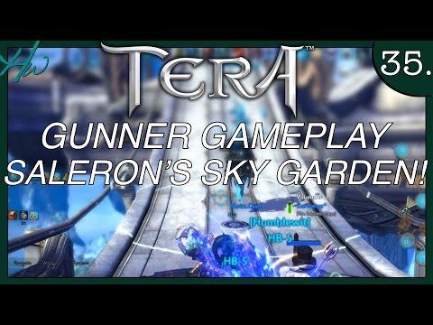 TERA GUNNER GAMEPLAY - Ep.35 - SALERON'S SKY GARDEN INSTANCE DUNGEON - BONUS ENDING
