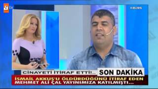 Mehmet Ali Çal yayından sonra gözaltına alındı! at