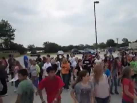 Springtown Middle School Flash Mob