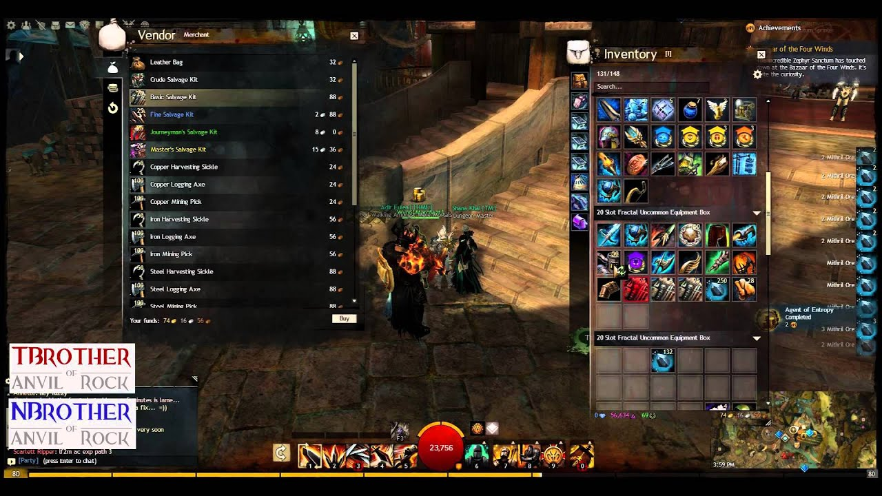 guild wars 2 how to make gold fast