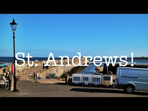 Vlog #10 St. Andrews (w/ Lee)
