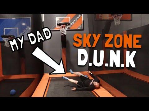 HILARIOUS Game Of D.U.N.K vs MY DAD!