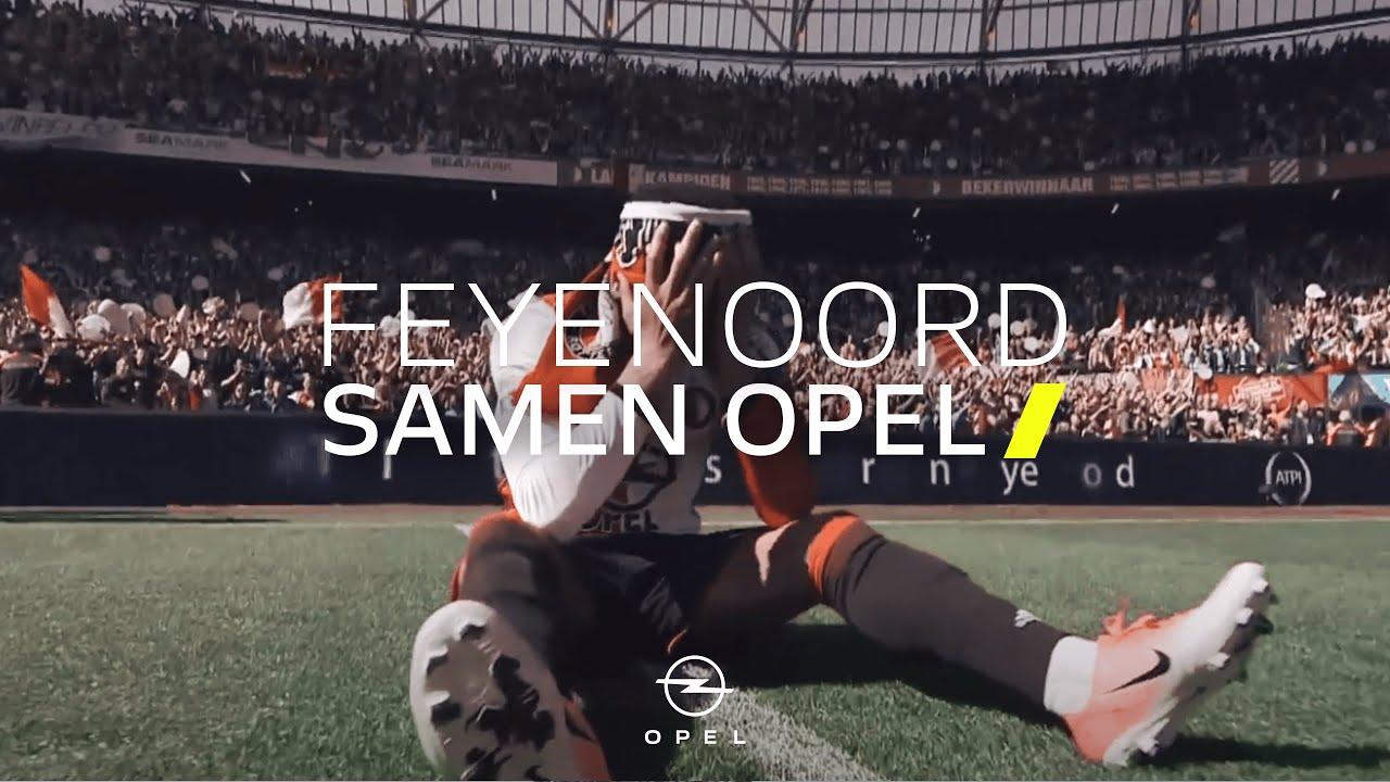 Feyenoord Hart voor Opel