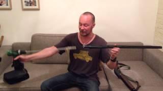 Чистка гладкоствольного ружья шуруповёртом