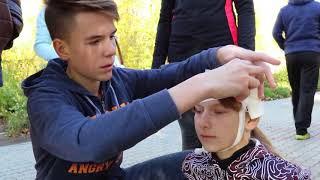 2017. 10. 04 Эстафета посвященная 85 - летию гражданской обороны