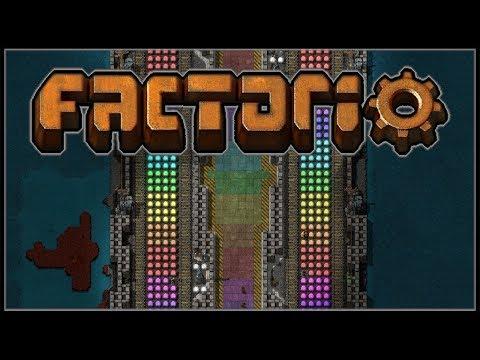 Factorio Recursion #17 - Rainbow Road (0.15 | Factorissimo Mod)