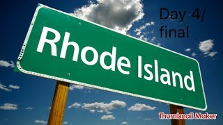 Rhode Island Vlog 3 day 4/final
