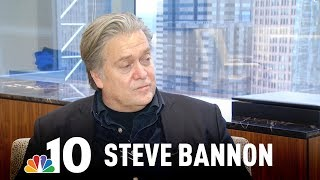 Steve Bannon on Chris Christie's Firing and Staying in Contact With the White House