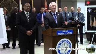 2015/01/22: Fort Wayne Indiana crime statistic update