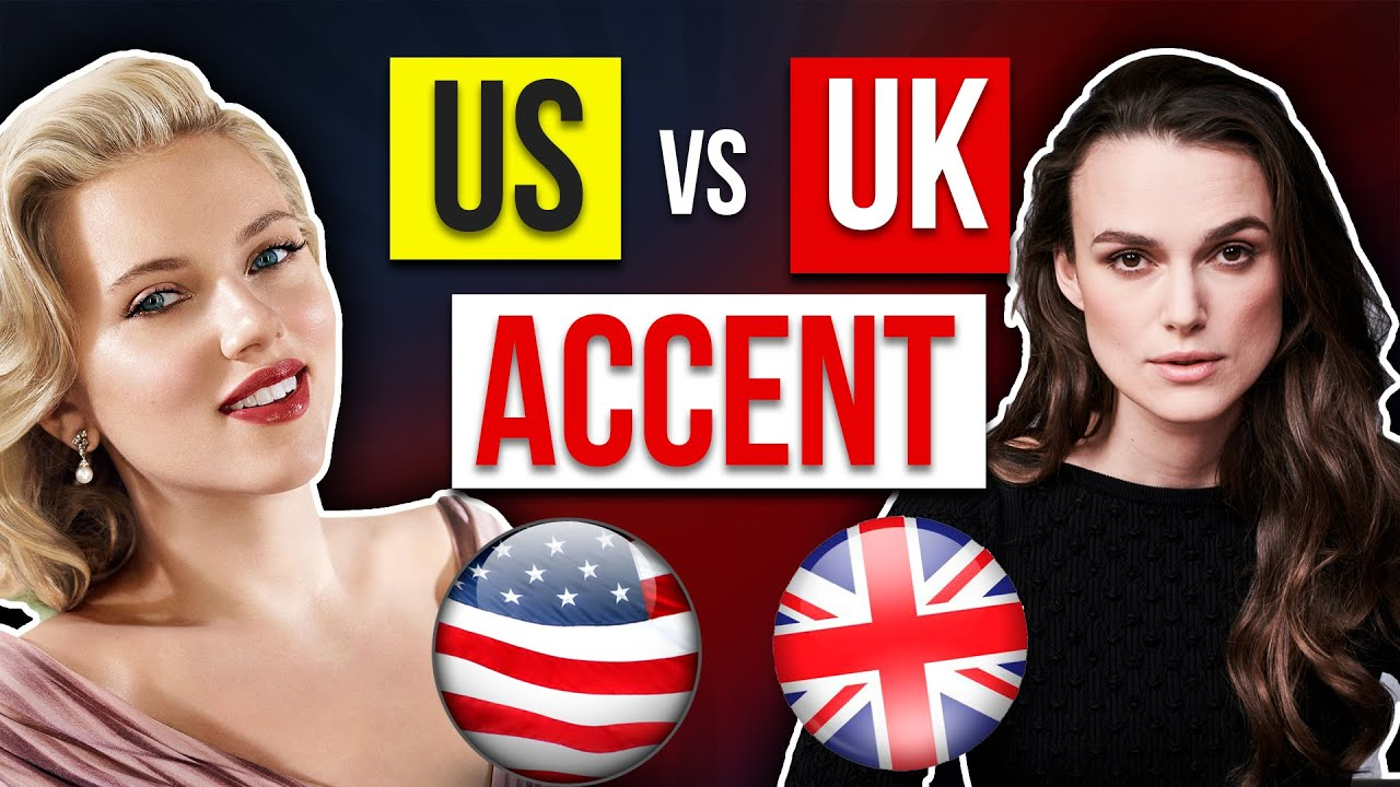 US vs UK Accent - What's The Difference? - British + American pronunciation