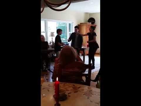 Georgia and friends perform
