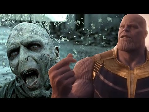 Thanos Snaps Fingers & Erases Everyone in Other Universes Pt1 | Avengers Infinity War/Endgame Parody