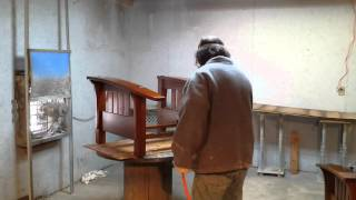 Refinishing Stickley Chairs At Timeless Arts Refinishing