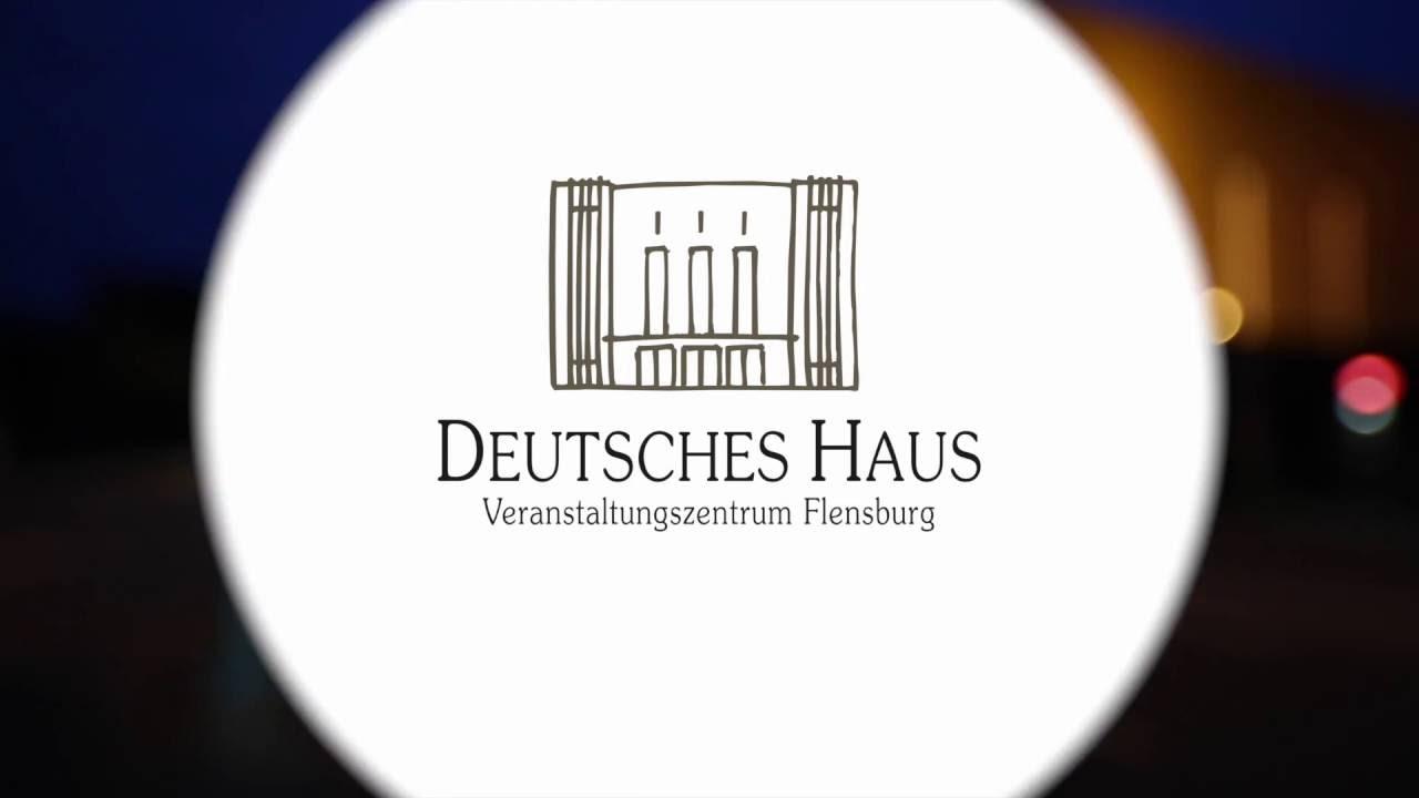 Bannerhängung Deutsches Haus Flensburg