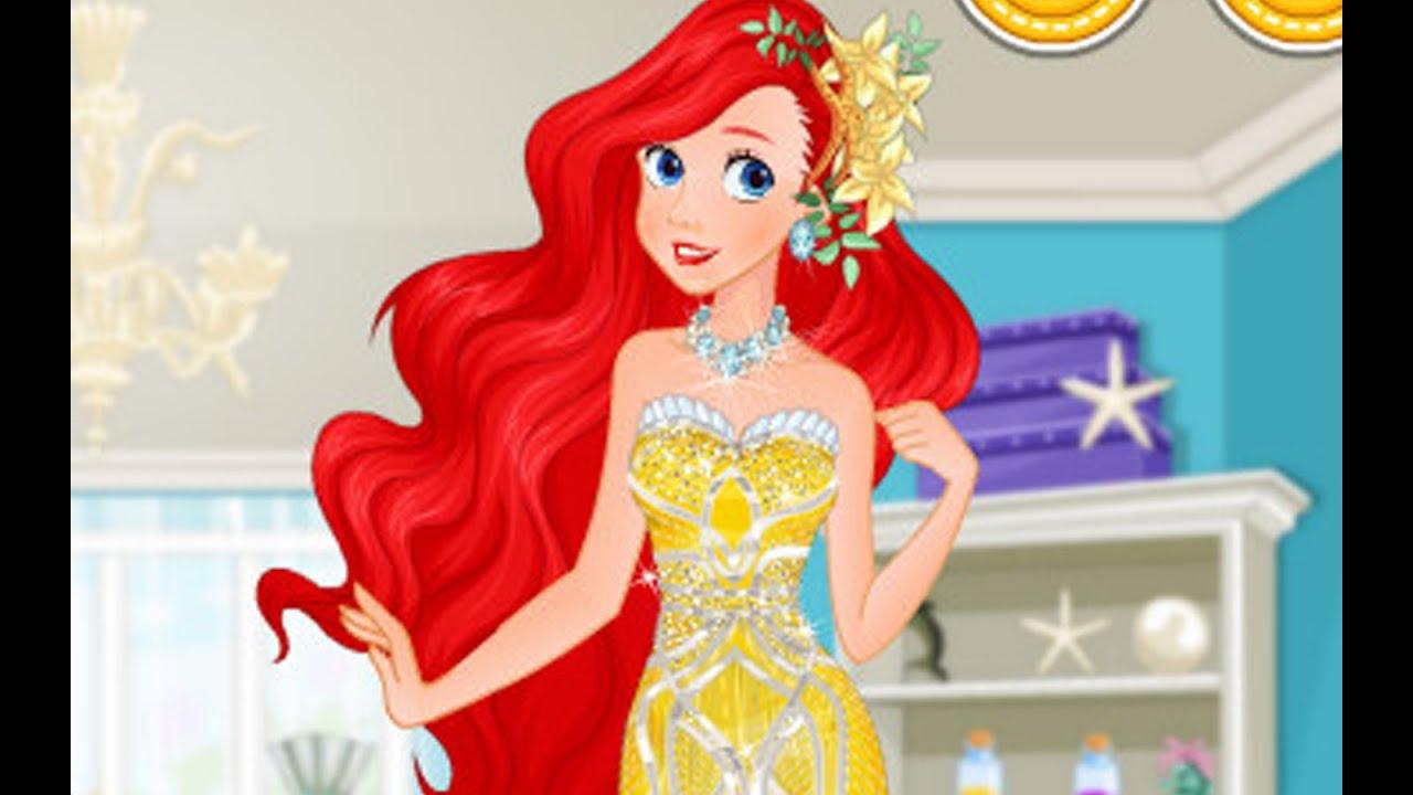 Ariel Games - Disney Princess Games - Princess Dress Up Games